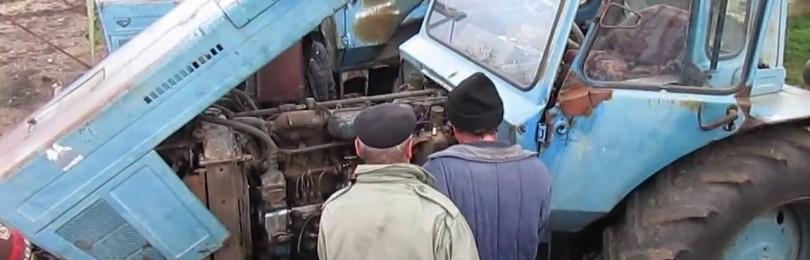 Как завести и управлять трактором