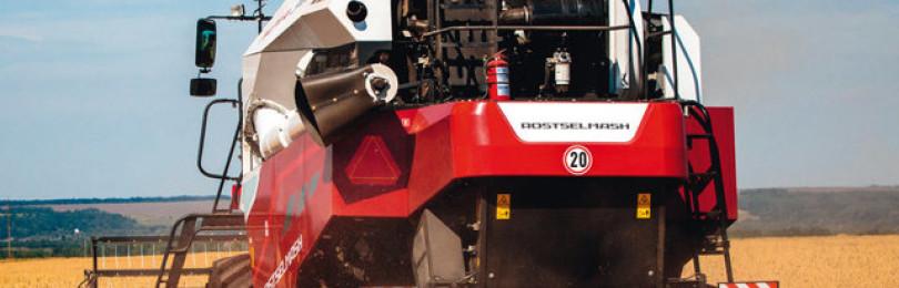 Комбайн торум 750: технические характеристики
