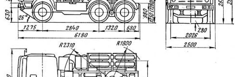 Камаз 54112: технические характеристики, фото