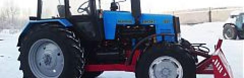 Отвал для трактора МТЗ-82: Выбираем правильно