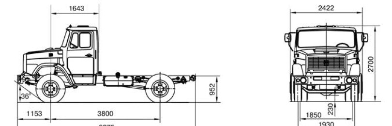 Зил самосвал 45085: технические характеристики
