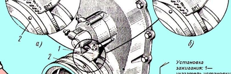 Как выставить зажигание на камазе, схема и правила регулировки