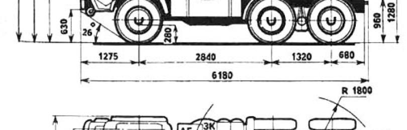 Камаз 4350: технические характеристики, расход, схема