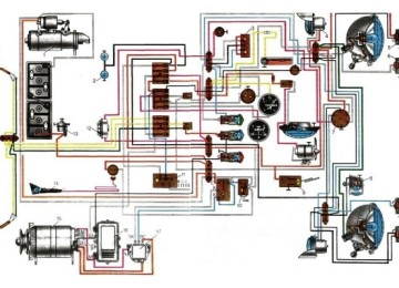 Электросхема МТЗ 82