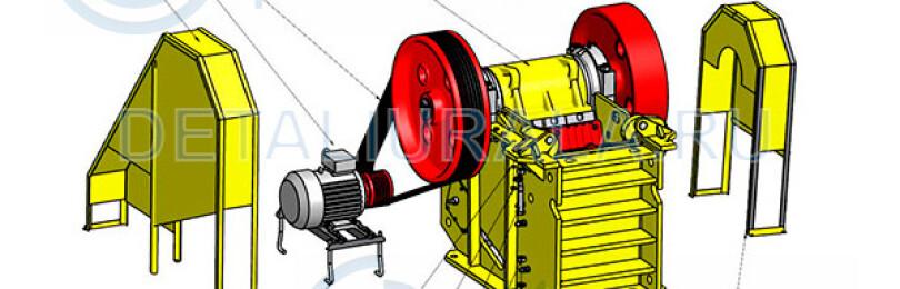 Где купить щековое дробильное оборудование СМД-110 и запчасти с доставкой?