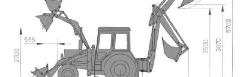 Экскаватор эо 2626: технические характеристики