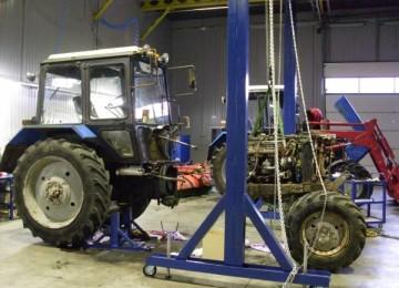 Электрооборудование двигателя на МТЗ-1221 — Схема