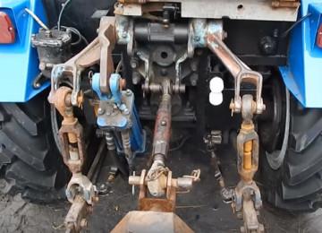 Навеска трактора МТЗ-80, 82: виды, устройство, схемы