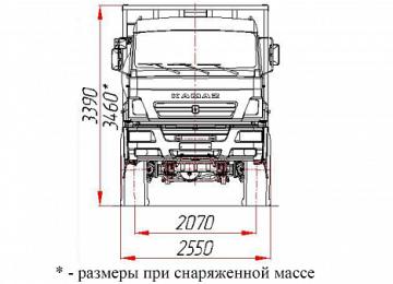 Камаз 65222: технические характеристики, схема, расход топлива