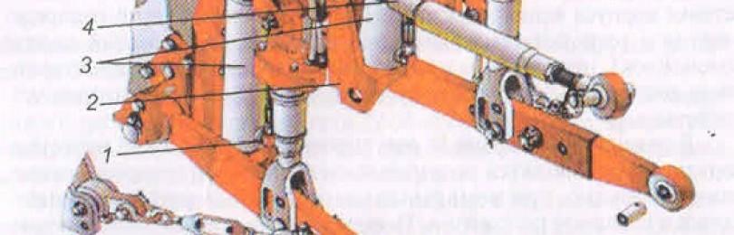 Распределитель МТЗ-1221 Устройство
