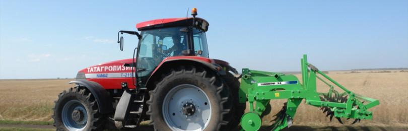 Используем глубокорыхлитель на тракторах Минского завода
