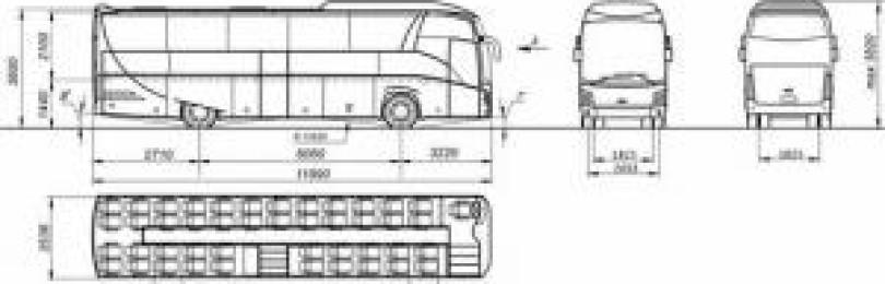 Автобус маз 251: схема мест и технические характеристики