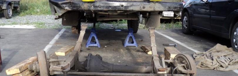 Передний мост уаз буханка: устройство, схема, ремонт