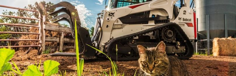 Техника и оборудование компании Bobcat