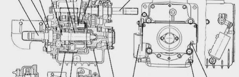 Вал отбора мощности МТЗ-1221: устройство и регулировка