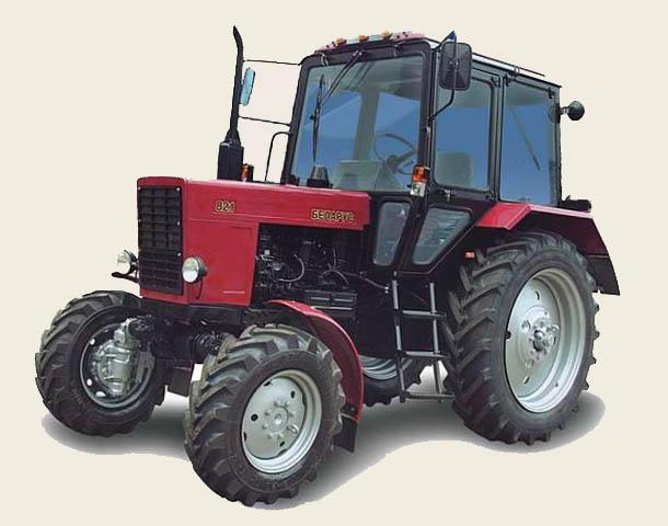 устройство трактора мтз