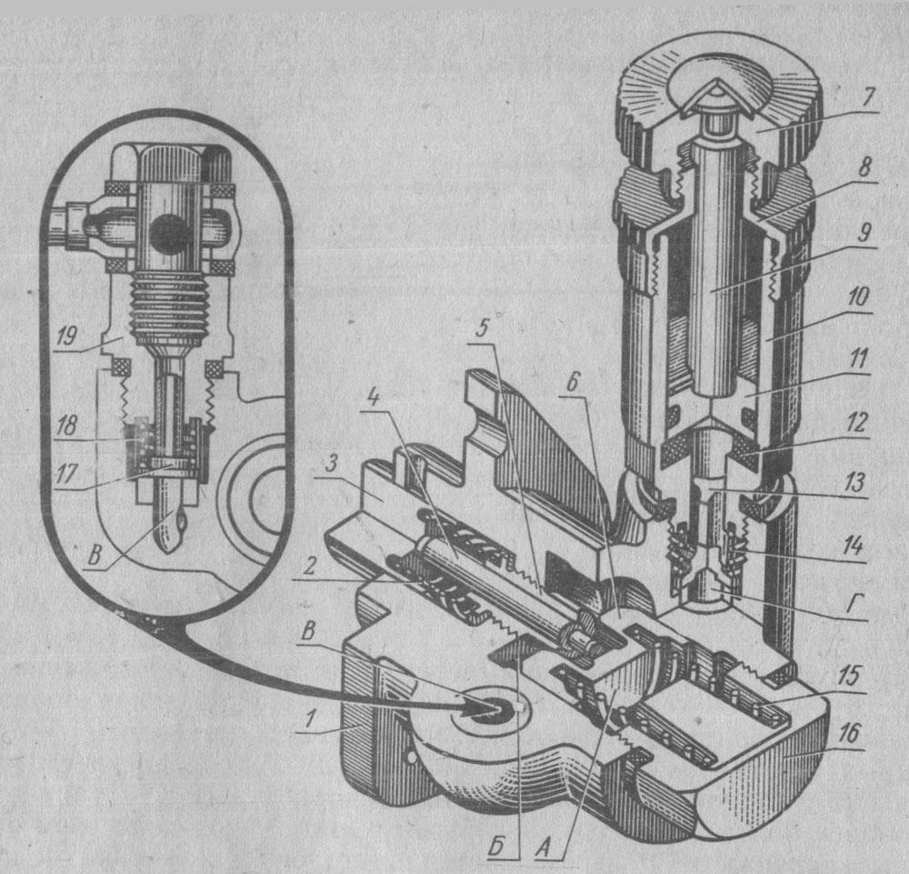 Подкачивающий насос трактора МТЗ-80/82