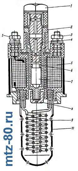 Схема ЭФП-8101/500 трактора МТЗ-80, МТЗ-82