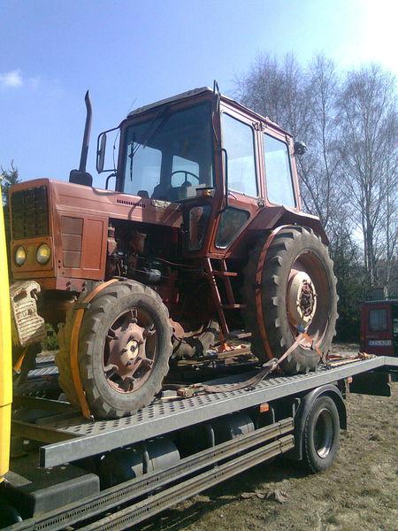 Трактор требующий ремонта