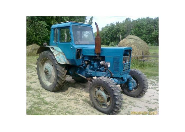 Трактор МТЗ после ремонта