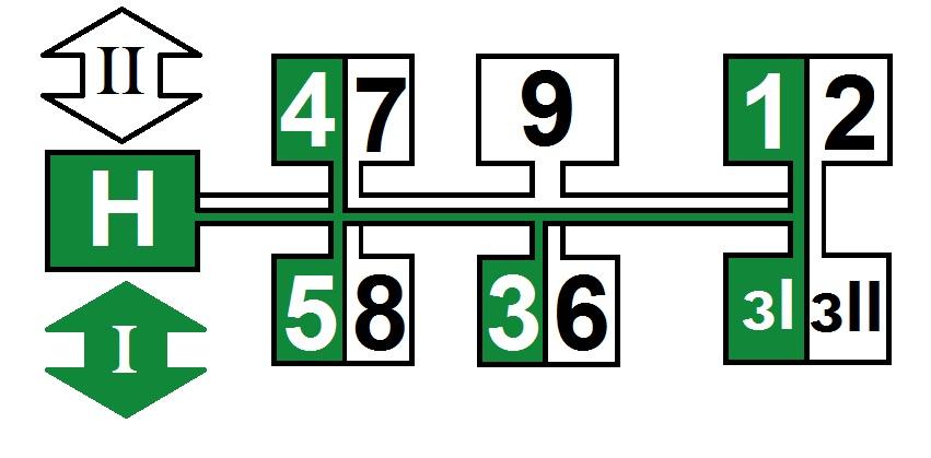 Схема КПП МТЗ-80-82