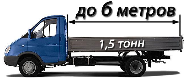 Газель 3302 Грузоподъемность