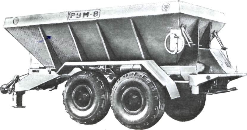 Транспортер разбрасывателя минеральных удобрений купить фольксваген транспортер бу микроавтобусы