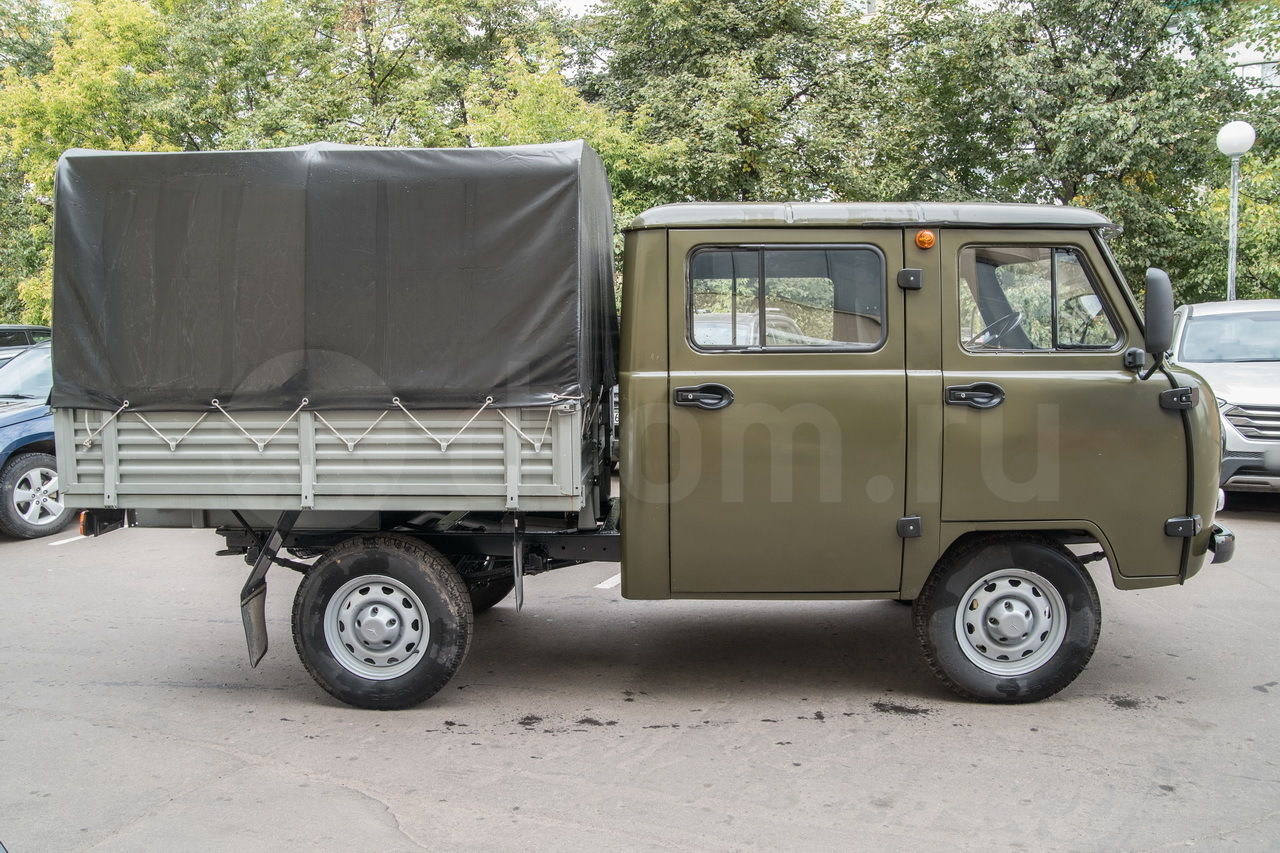 Уаз Фермер 390945: технические характеристики, размер кузова